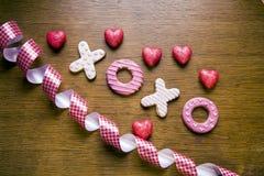 Μπισκότα Handmaded στοκ εικόνες με δικαίωμα ελεύθερης χρήσης