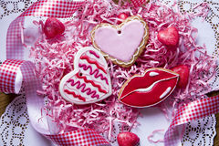 Μπισκότα Handmaded στοκ φωτογραφίες με δικαίωμα ελεύθερης χρήσης