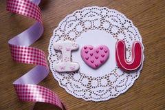 Μπισκότα Handmaded στοκ εικόνα