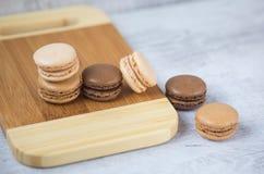 Μπισκότα Macaron Στοκ εικόνες με δικαίωμα ελεύθερης χρήσης