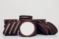 Μπισκότα Oreo στοκ φωτογραφίες