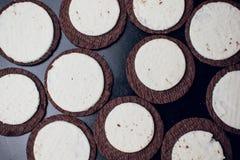 Μπισκότα Oreo στοκ εικόνες