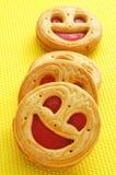 Μπισκότα Smiley Στοκ Φωτογραφία
