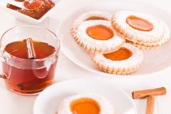 Μπισκότα Teatime Στοκ φωτογραφίες με δικαίωμα ελεύθερης χρήσης