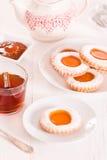 Μπισκότα Teatime Στοκ φωτογραφία με δικαίωμα ελεύθερης χρήσης
