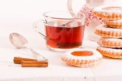 Μπισκότα Teatime Στοκ Φωτογραφίες