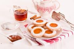 Μπισκότα Teatime Στοκ Εικόνες