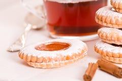 Μπισκότα Teatime Στοκ εικόνες με δικαίωμα ελεύθερης χρήσης