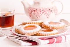 Μπισκότα Teatime Στοκ Εικόνα