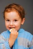μπισκότο αγοριών Στοκ Εικόνες