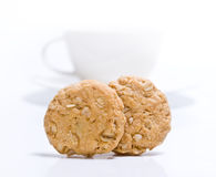 μπισκότο δημητριακών Στοκ Φωτογραφία