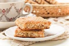 Μπισκότο και τσάι Στοκ φωτογραφίες με δικαίωμα ελεύθερης χρήσης