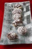 Μπισκότο καρυδιών Στοκ Εικόνες
