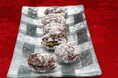 Μπισκότο καρυδιών Στοκ φωτογραφία με δικαίωμα ελεύθερης χρήσης