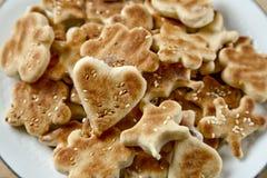 μπισκότο σπιτικό Στοκ φωτογραφία με δικαίωμα ελεύθερης χρήσης