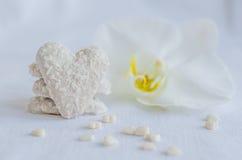 Μπισκότο στη μορφή της καρδιάς Στοκ εικόνες με δικαίωμα ελεύθερης χρήσης