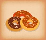 Μπισκότο τσιπ σοκολάτας απεικόνιση αποθεμάτων