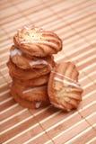 μπισκότο τσιπ σπιτικό στοκ φωτογραφίες