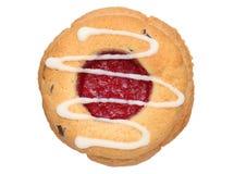 Μπισκότο φραουλών Στοκ Εικόνες