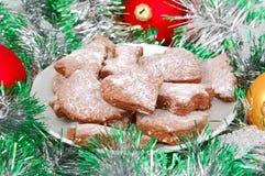 μπισκότο Χριστουγέννων σ&omic Στοκ φωτογραφίες με δικαίωμα ελεύθερης χρήσης