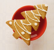 μπισκότο Χριστουγέννων στοκ εικόνες