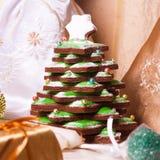 Μπισκότο Χριστουγέννων στοκ φωτογραφίες