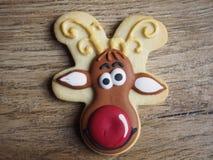 Μπισκότο Χριστουγέννων Στοκ εικόνες με δικαίωμα ελεύθερης χρήσης