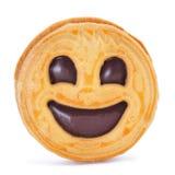 Μπισκότο Smiley Στοκ φωτογραφία με δικαίωμα ελεύθερης χρήσης