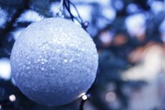 Μπιχλιμπίδια Χριστουγέννων - διακοσμητικά μοτίβα στοκ εικόνες με δικαίωμα ελεύθερης χρήσης