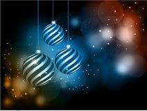 Μπιχλιμπίδια Χριστουγέννων Στοκ Φωτογραφία