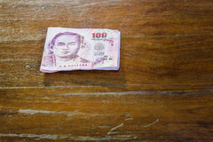 Μπιλ 100 λουτρό Στοκ Φωτογραφίες