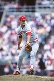 Μπιλ Gullickson, Cincinnati Reds Στοκ Εικόνες