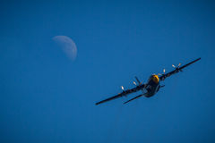 Μπλε άγγελοι γ-130 Στοκ εικόνα με δικαίωμα ελεύθερης χρήσης
