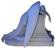 Μπλε άγγελος κλάματος Στοκ φωτογραφία με δικαίωμα ελεύθερης χρήσης