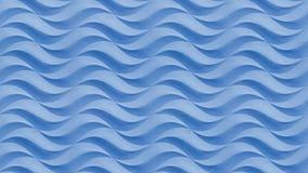Μπλε άνευ ραφής κυματιστό σχέδιο υποβάθρου σύστασης πετρών Άνευ ραφής κυματιστή επιφάνεια πετρών σχεδίων σύστασης στόκων ασβεστοκ Στοκ Εικόνα