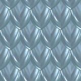 Μπλε άνευ ραφής σχέδιο κλίμακας δερμάτων ψαριών γοητείας στοκ εικόνα με δικαίωμα ελεύθερης χρήσης