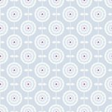 Μπλε άνευ ραφής σχέδιο με τα αφηρημένα λουλούδια άνοιξη διανυσματική απεικόνιση