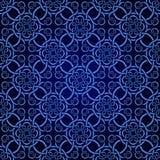 μπλε άνευ ραφής ταπετσαρί&al απεικόνιση αποθεμάτων