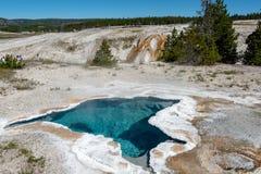 Μπλε άνοιξη αστεριών, εθνικό πάρκο Yellowstone στοκ φωτογραφία