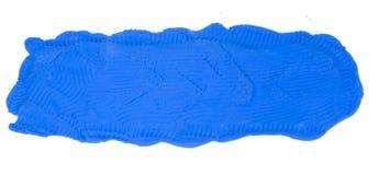 μπλε άργιλος εμβλημάτων Στοκ εικόνα με δικαίωμα ελεύθερης χρήσης