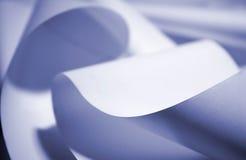 μπλε έγγραφο ανασκόπησης Στοκ Εικόνα