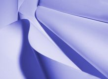 μπλε έγγραφο Στοκ Εικόνα