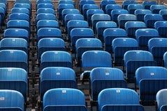 μπλε έδρες Στοκ εικόνες με δικαίωμα ελεύθερης χρήσης