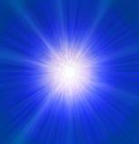 Μπλε έκρηξη Στοκ Εικόνα