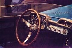 Μπλε έξοχος αθλητισμός SS δρομώνων Chevrolet του 1956 Στοκ εικόνα με δικαίωμα ελεύθερης χρήσης