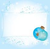 μπλε έτος Στοκ εικόνα με δικαίωμα ελεύθερης χρήσης