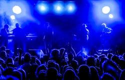 Μπλε ήχος Στοκ Εικόνες