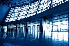 μπλε αίθουσα ευρέως στοκ εικόνες με δικαίωμα ελεύθερης χρήσης