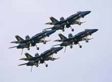 μπλε αγγέλων από τη λήψη Στοκ φωτογραφίες με δικαίωμα ελεύθερης χρήσης