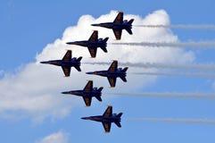 μπλε αγγέλων Στοκ Εικόνες